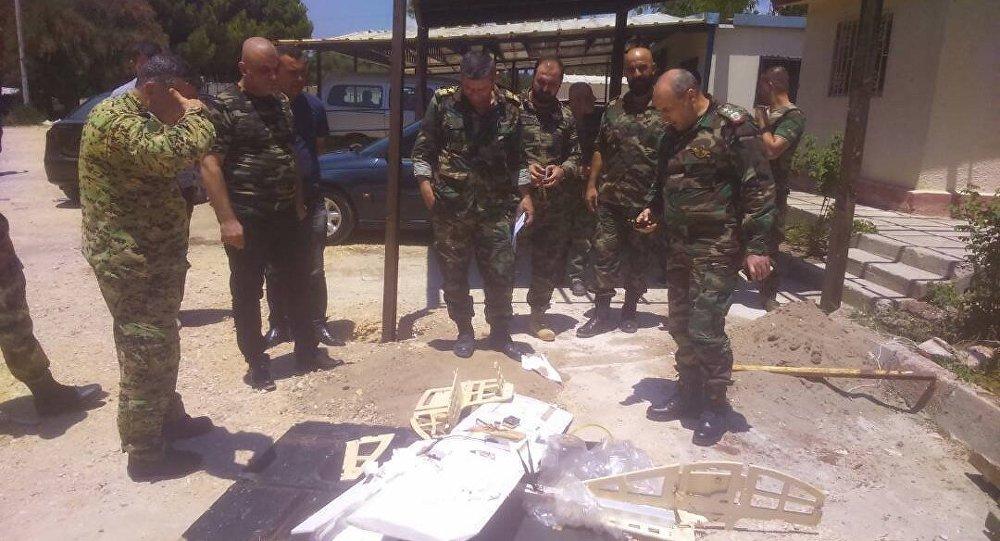 Drony nieznanego pochodzenia w rosyjskiej bazie Hmeimim, Syria