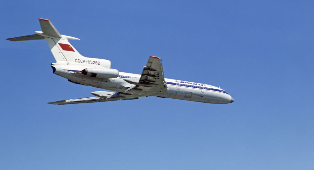 Samolot Tu-154