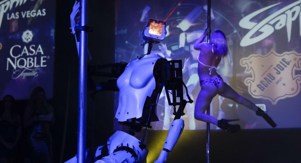 Robot striptizerka