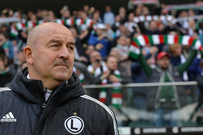 Stanisław Czerczesow były trener Legii Warszawa