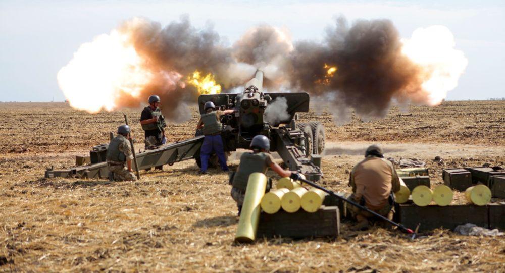 Ćwiczenia wojskowe na Ukrainie