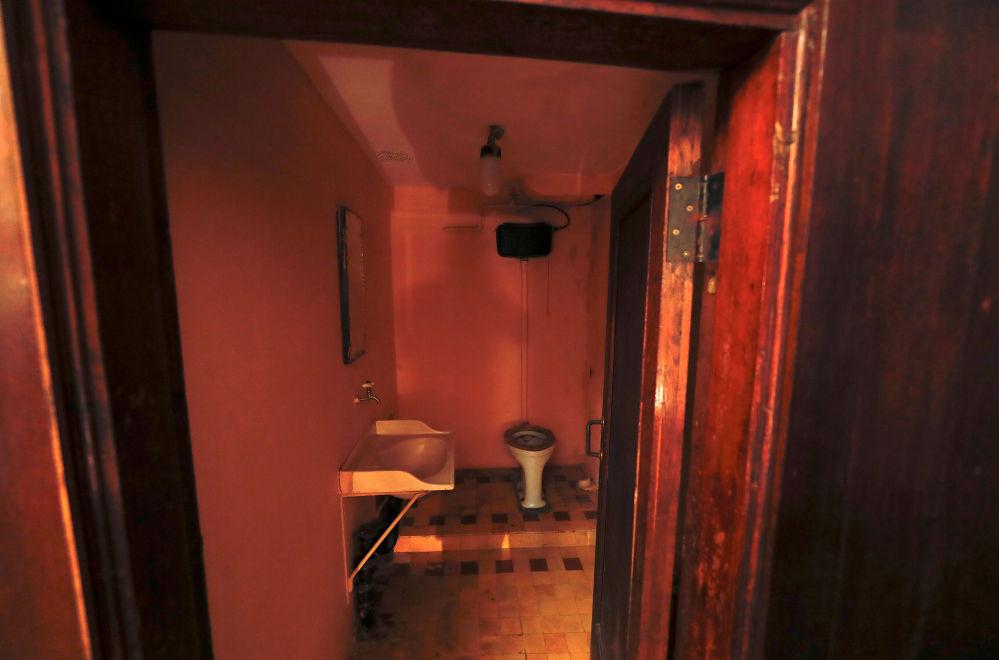 Łazienka w Bunkrze Stalina w Samarze