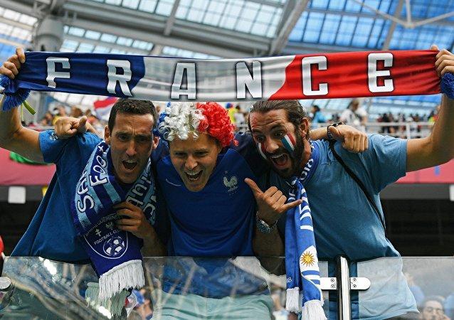 Francuscy kibice