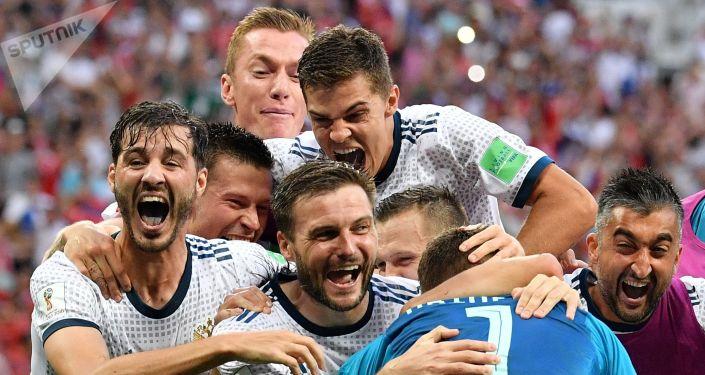 Piłkarze rosyjskiej reprezentacji