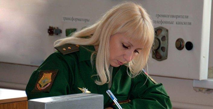 Chorąży Maria Litowczenko