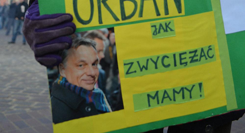 Uczestniczka protestu w Warszawie przeciwko islamizacji Europy 2