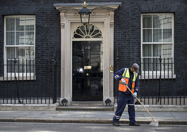 Downing Street w Londynie
