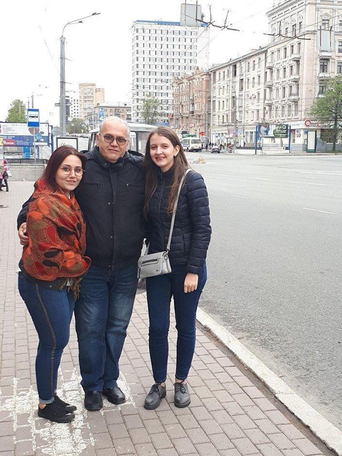 Rodzina Antonio w Czelabińsku