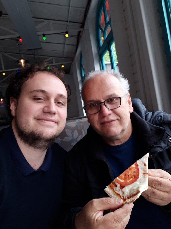 Antonio z ojcem, Czelabińsk