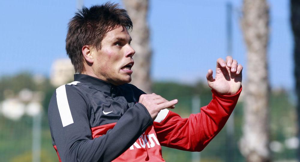 Piłkarz Ognjen Vukojević