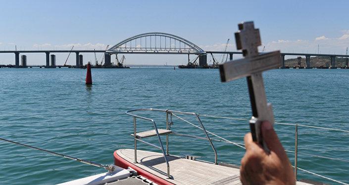 Święcenie Mostu Krymskiego