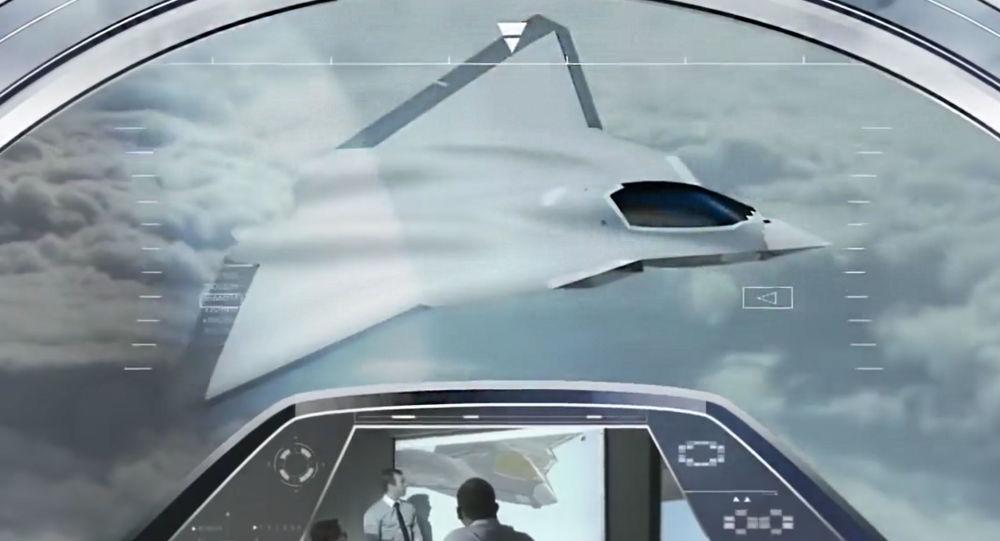 Pierwsza koncepcja europejskiego myśliwca piątej generacji od francuskiej firmy Dassault Aviation
