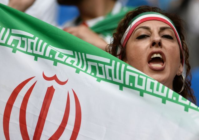 Irańska kibicka