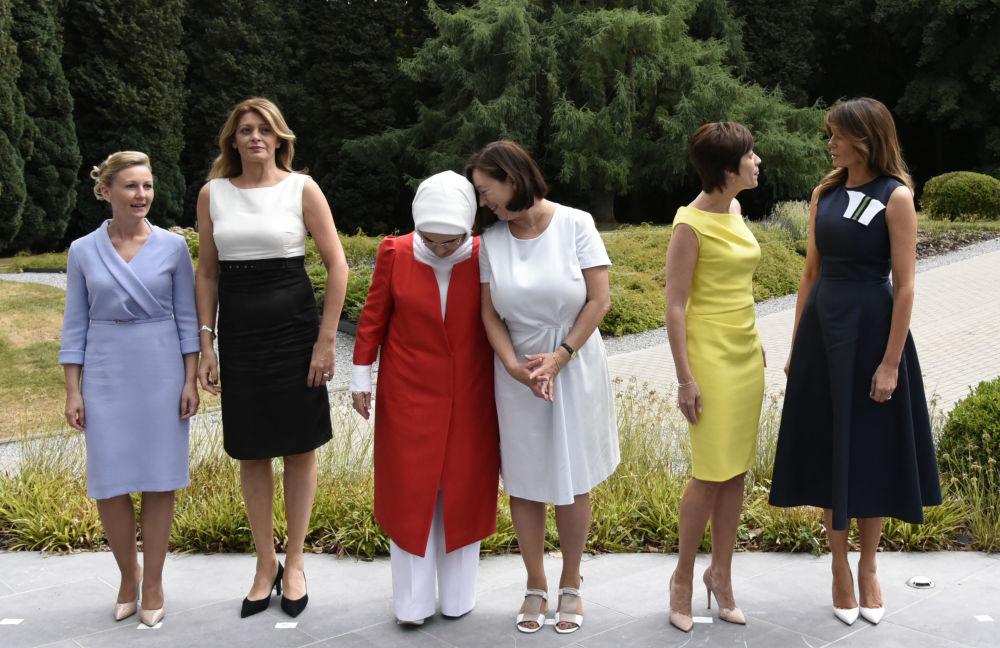 Pierwsze Damy państw NATO: Słowenia, Bułgaria, Turcja, Belgia, Stany Zjednoczone