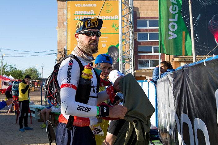 Polski maratończyk Maciej Moryc