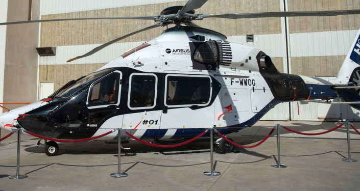 Helikopter firmy Airbus Helicopters