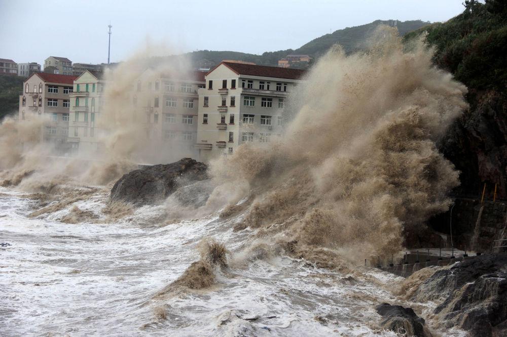 Tajfun Maria w Chinach