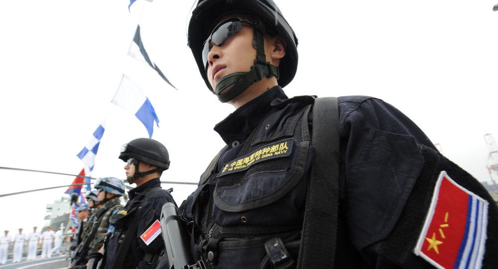 Żołnierz Marynarki Wojennej Chin