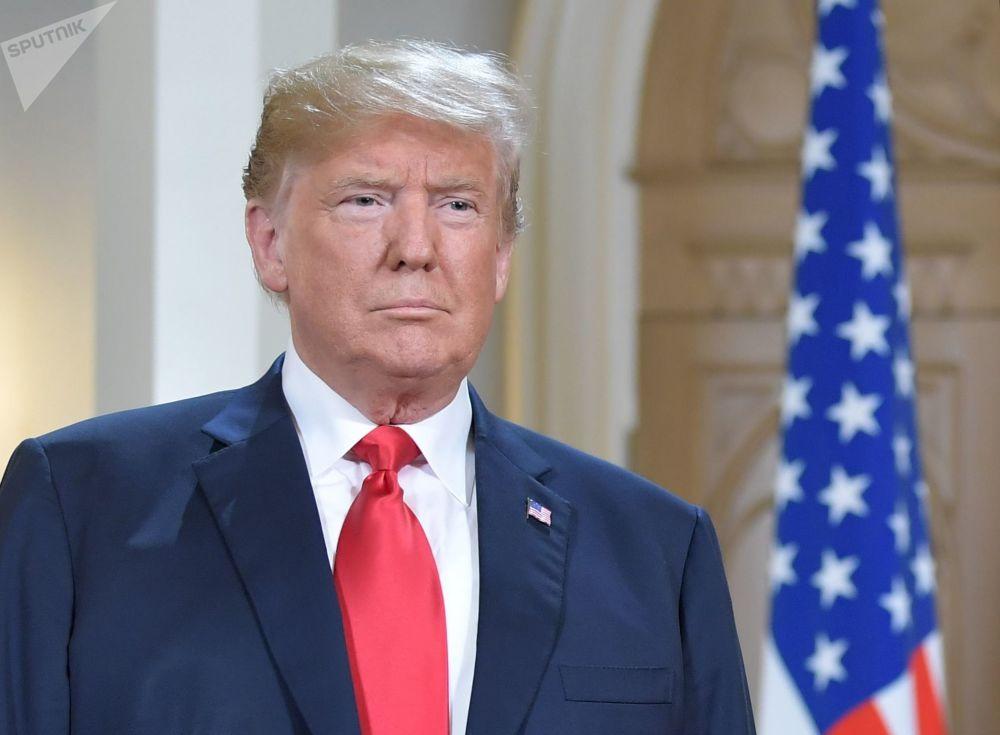 Prezydent USA Donald Trump przybył do Helsinek na spotkanie z Władimirem Putinem