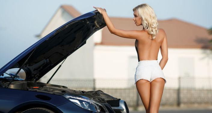 Kobieta i samochód