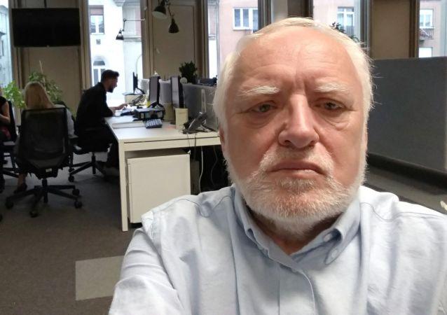 András Arató znany jako Dziwny Pan ze Stocku