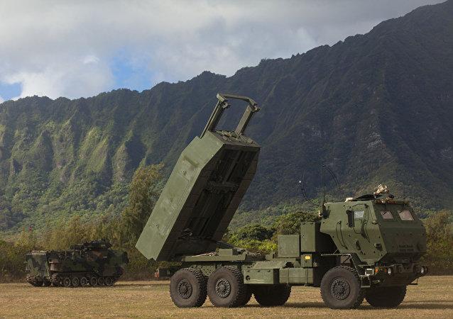 US High Mobility Artillery Rocket System (HIMARS)