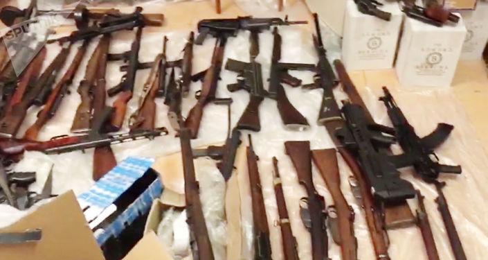 FSB zlikwidowała kanał dostaw broni z Unii Europejskiej