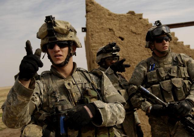 Amerykańscy wojskowi w Iraku
