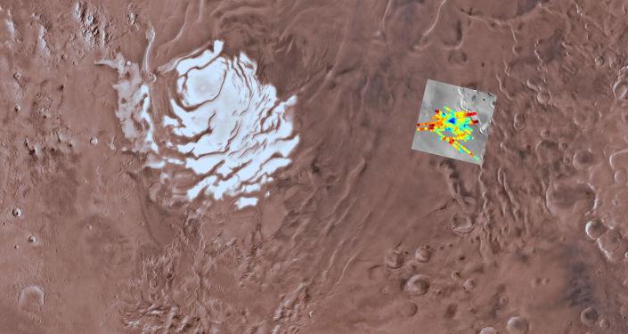 Jezioro ze słoną wodą znalezione dzięki włoskiemu radarowi MARSIS na sondzie Mars Express