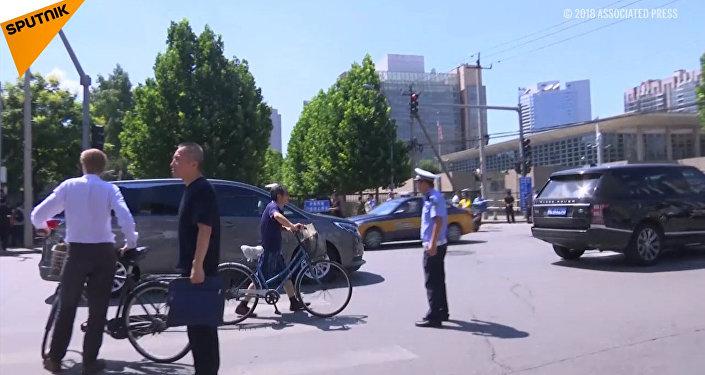 Eksplozja przed ambasadą USA w Pekinie