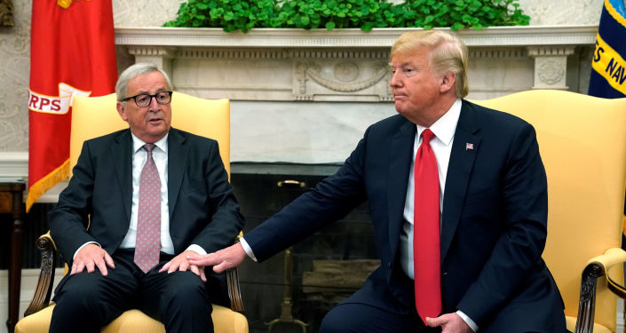 Jean-Claude Juncker i Donald Trump