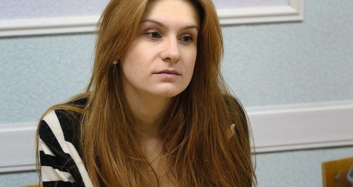 Мария Бутина, обвиняемая в шпионаже