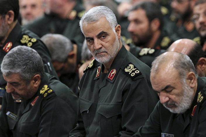Dowódca elitarnej jednostki specjalnej w strukturze irańskiego Korpusu Strażników Rewolucji Islamskiej Sił Ghods generał major Ghasem Solejmani