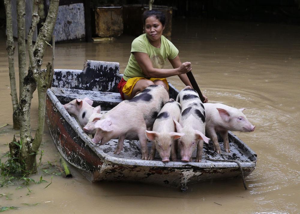 Powódź na Filipinach