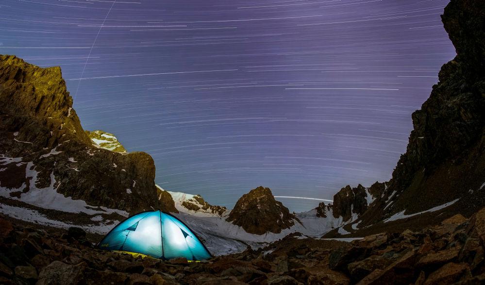 Deszcz meteorów w Kazachstanie