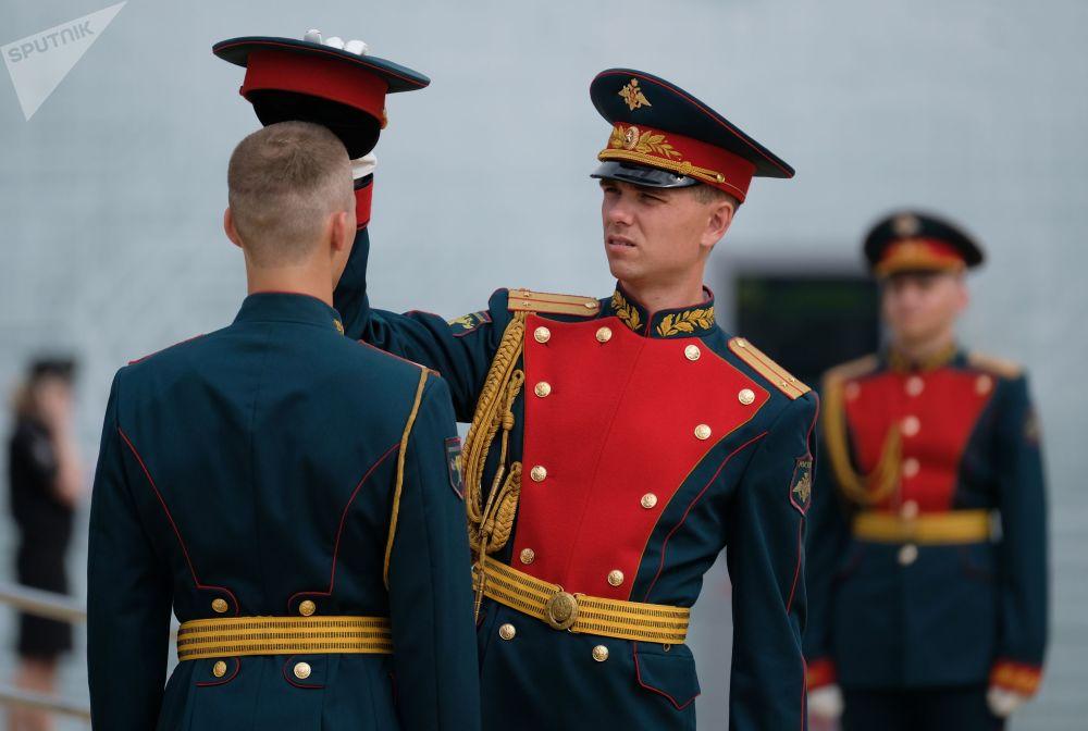 Straż honorowa na ceremonii otwarcia konkursu Armia 2018
