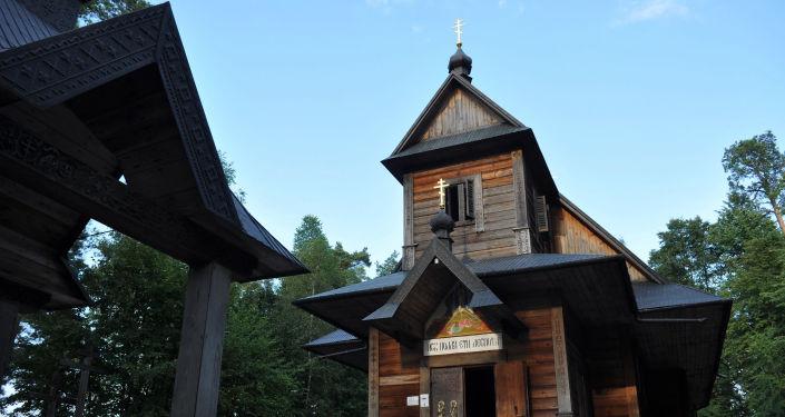 Cerkiew Przemienienia Pańskiego na Świętej Górze Grabarce