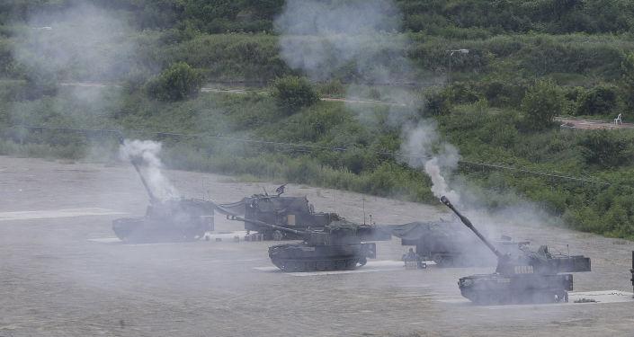 Ćwiczenia wojskowe USA i Korei Południowej