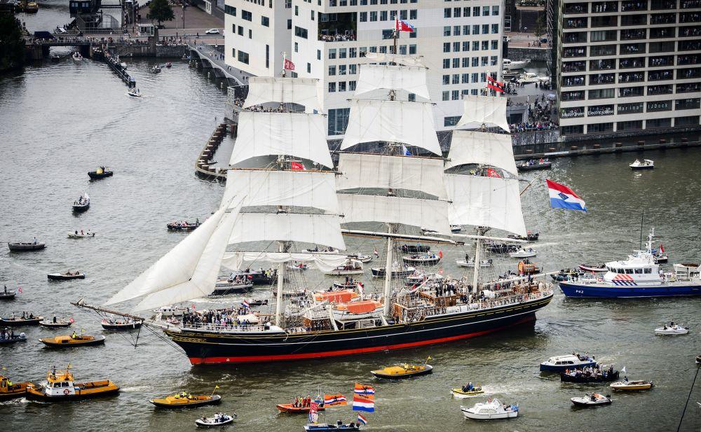 Holenderski żaglowiec – kliper Stad Amsterdam