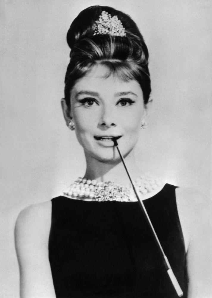 Brytyjska aktorka Audrey Hepburn