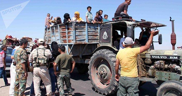 Syryjczycy wracają do domu
