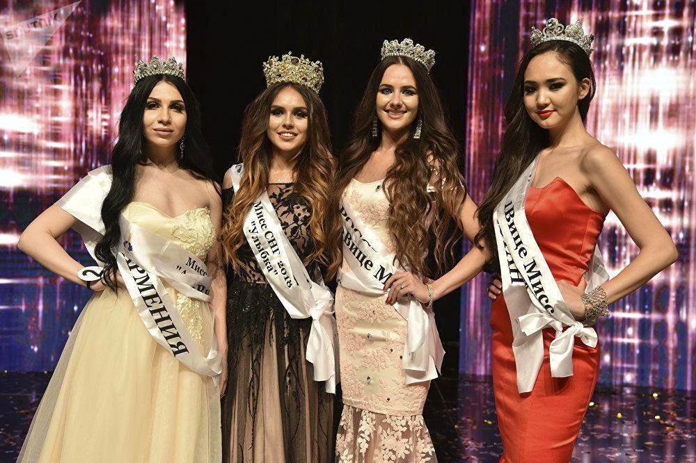 Finalistki konkursu piękności Miss WNP 2018