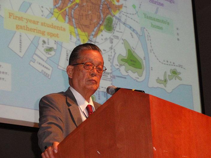 Sadao Yamamoto, przeżył atak jądrowy