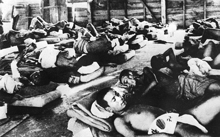 Ofiary bombardowania Hiroszimy