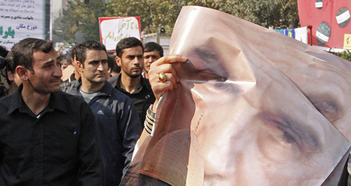 Antyamerykaskie protesty w Teheranie