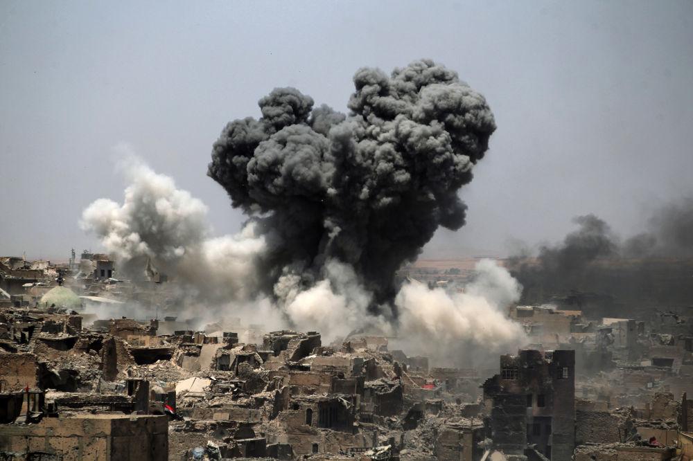 Mosul, Irak 2017 rok