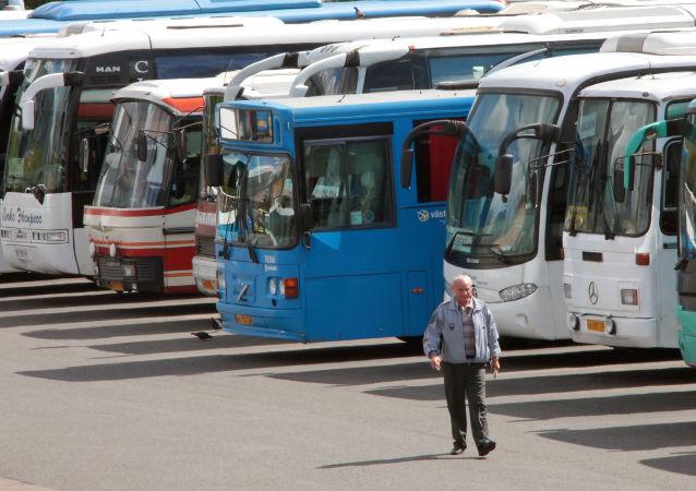 Centralny dworzec autobusowy w Moskwie