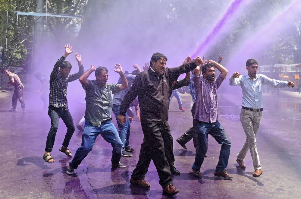 Protesty w Srinagar, Indie