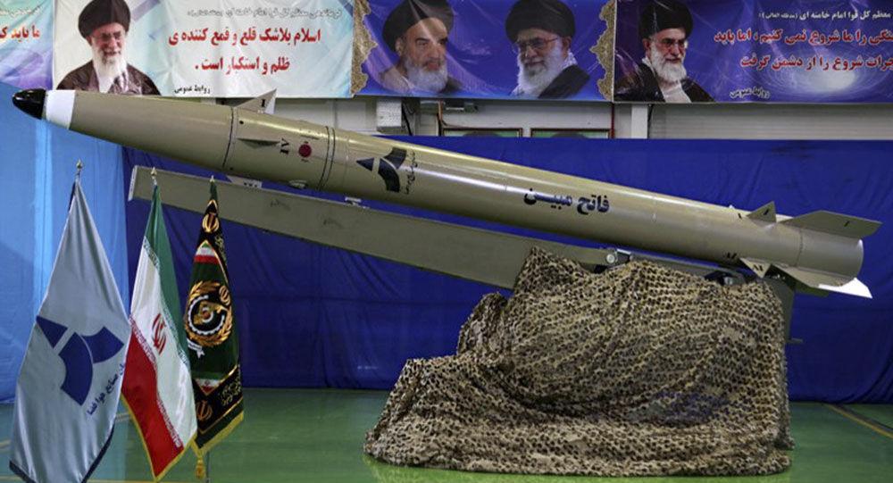 Prezentacja nowego irańskiego pocisku balistycznego typu Fateh nowej generacji