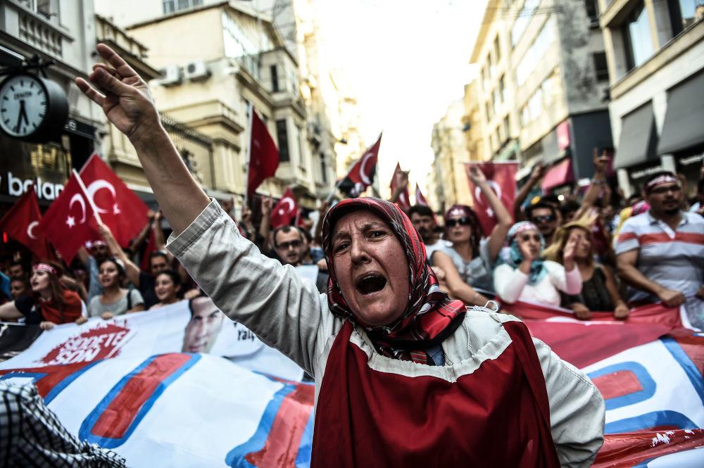 Akcja protestacyjna przeciwko Partii Pracujących Kurdystanu